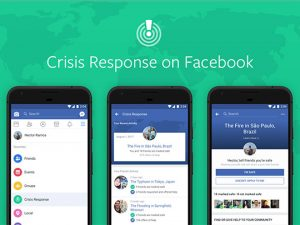 Facebook Fundraisers included in its Crisis Response centre tools