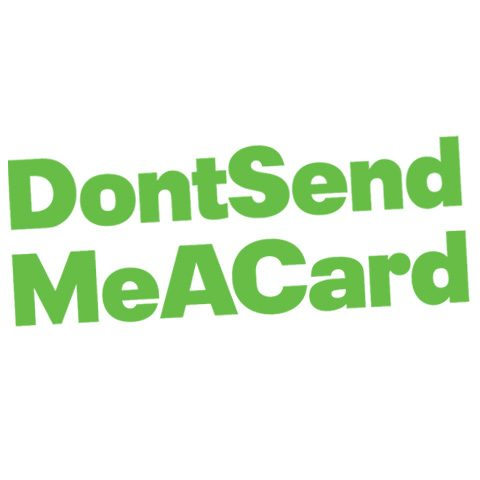 DontSendMeACard logo
