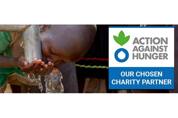 Gourmet Society partners with Action Against Hunger
