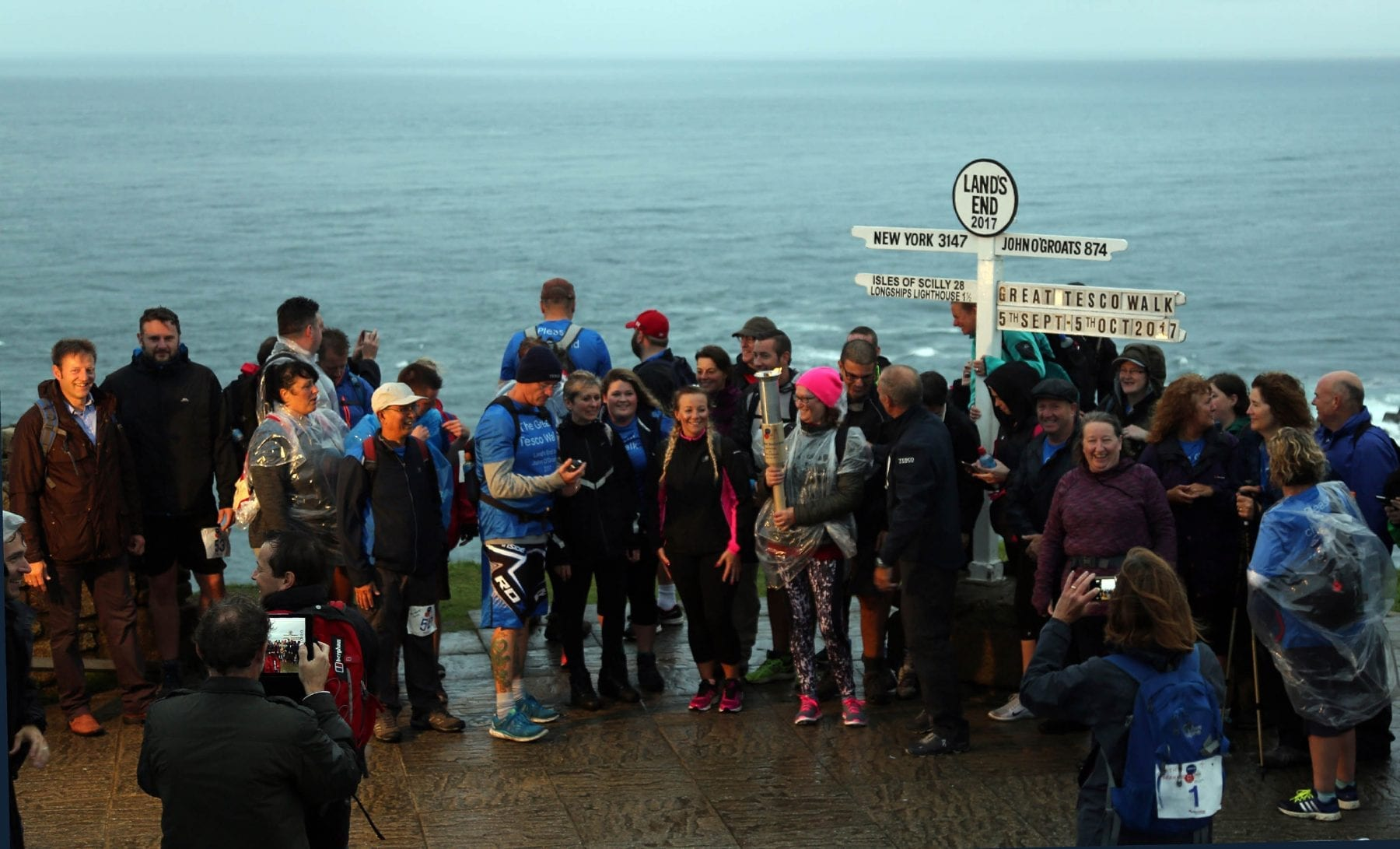 The Great Tesco Walk starts at Land's End