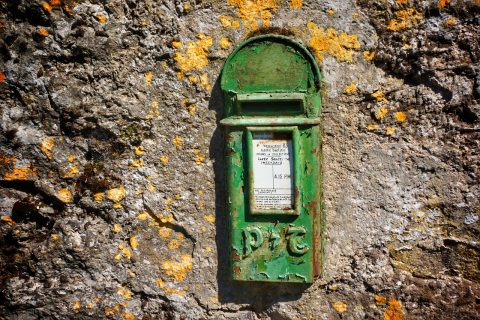 Ireland post box - image: Pixabay.com