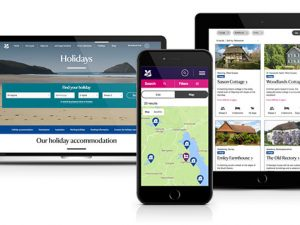 National Trust's redesigned holidays website boosts bookings by 32%