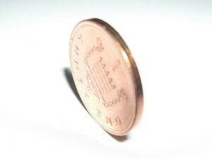 No new 1p or 2p coins were produced last year