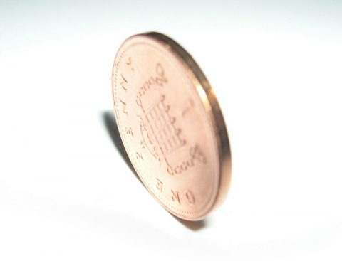 penny - one pence piece - 1p