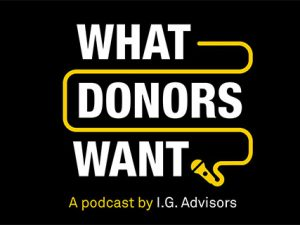 What Donors Want – Episode #5: The Bill & Melinda Gates Foundation