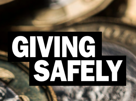 Giving Safely guide