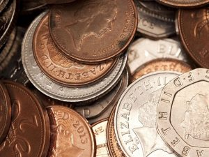 Loose change worth £320m in donations in 2017