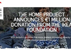 €1m donation from IKEA Foundation to The HOME Project