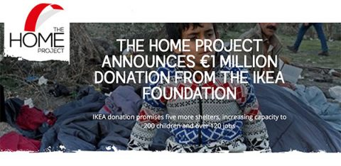 IKEA Foundation donates €1m to HOME Project