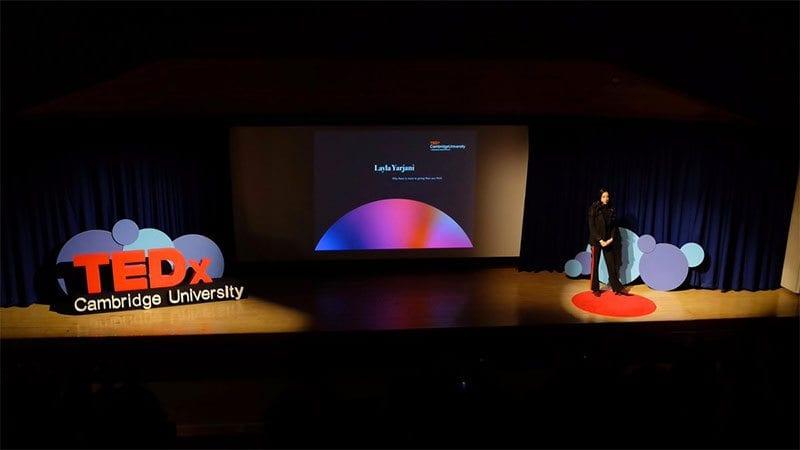 Layla Yarjani at TEDx Cambridge University