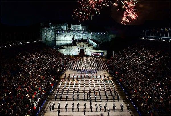 Royal edinburgh military tattoo to donate 1m to arts and for Scottish military tattoo 2018