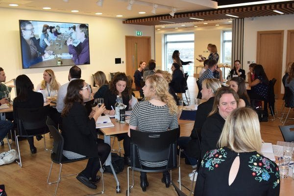Participants at the Battersea Dogs & Cats Home mentoring incubator event