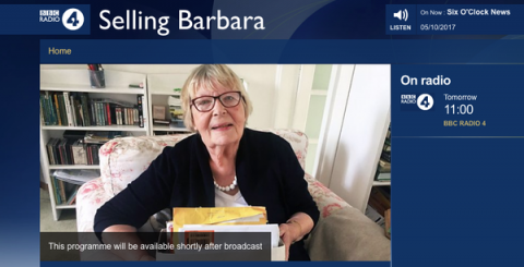You and Yours Selling Barbara