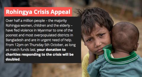 The Big Give Rohingya Appeal