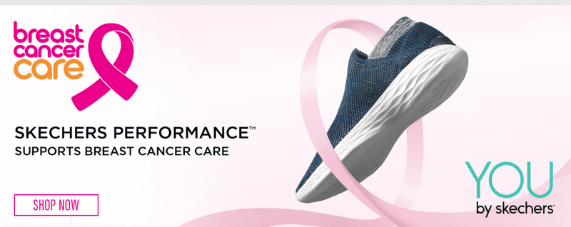 skechers breast cancer care