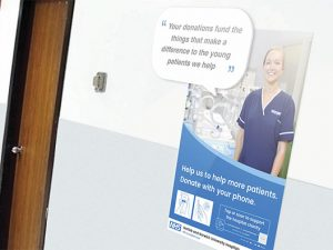 Norwich hospital charity introduces cashless donations for visitors