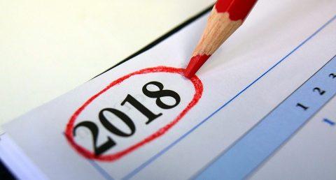 2018 calendar - photo: Pixabay