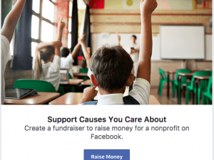 Facebook launches personal fundraising tool in the UK