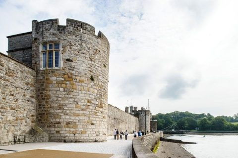 Bath Tower, Caernarfon - Landmark Trust - photo: Jill Tate