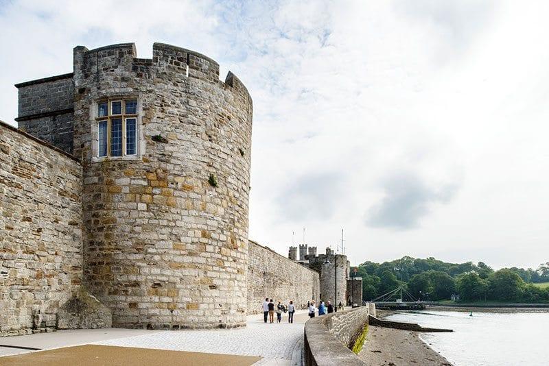 Bath Tower, Caernarfon - Landmark Trust - photo: Jill Tate