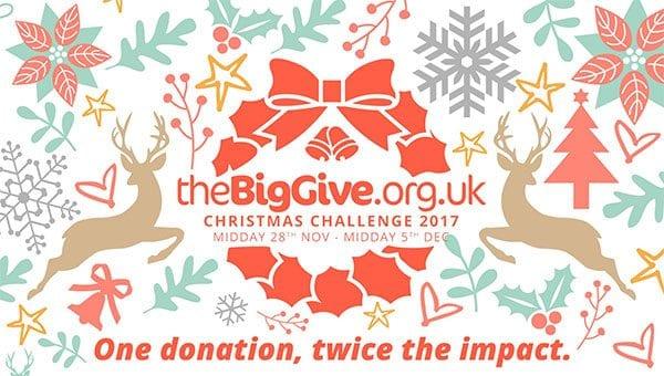 The Big Give Christmas Challenge 2017