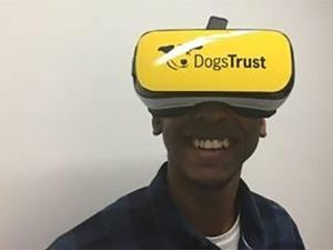 Dogs Trust uses virtual reality in face-to-face fundraising