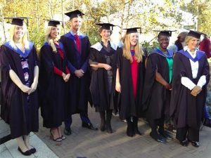 First students graduate from world's first undergraduate degree in charity fundraising