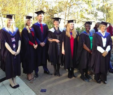First graduates on University of Chichester's undergraduate fundraising course