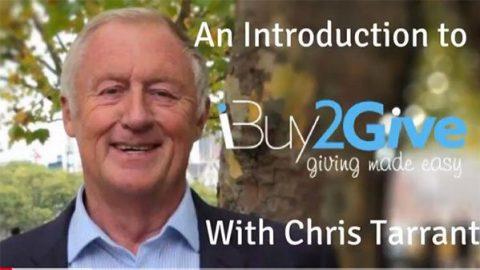 Chris Tarrant introduces iBuy2Give