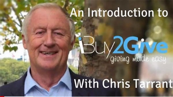 Chris Tarrant introduces iBuy2Give