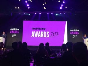 Posthumous Special Recognition Award for Bradley Lowery at JustGiving Awards 2017