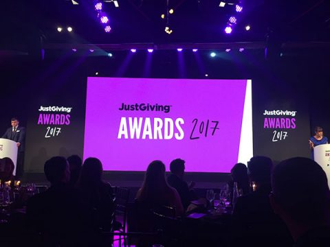 JustGiving Awards 2017