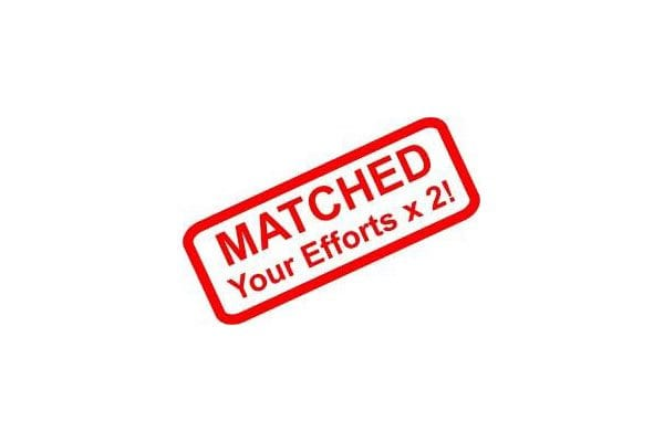 Matched - your efforts x 2
