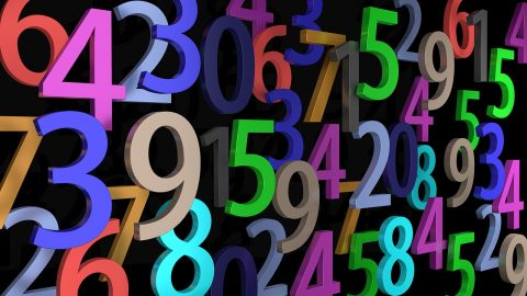 Numbers - image: pixabay