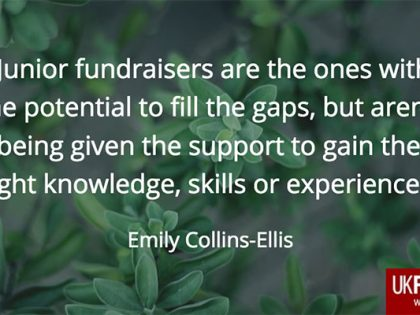 Stop trying to find great fundraisers – and grow your own