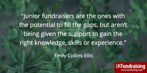 Young fundraisers - quotation by Emily Collins Ellis