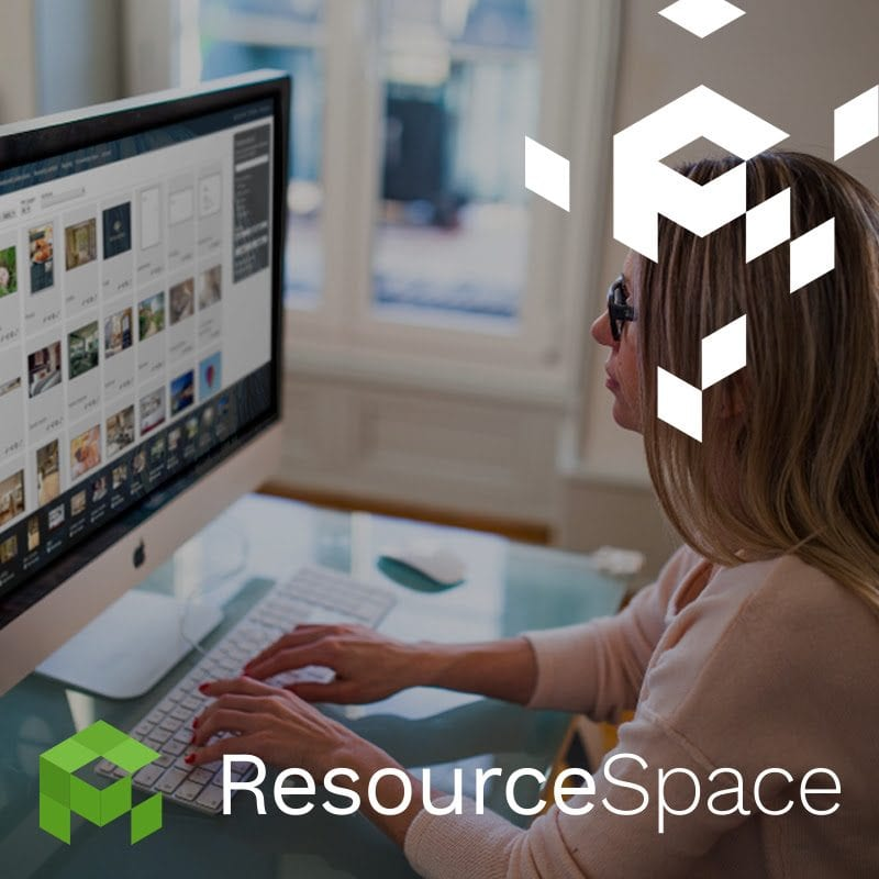 Resource Space - digital asset management in use