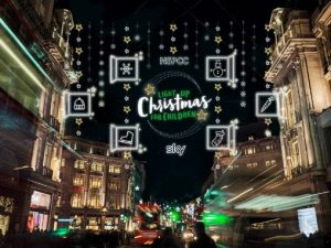 NSPCC illuminates cities with Light Up Christmas for Children campaign