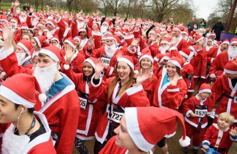 GOSH London Santa Dash