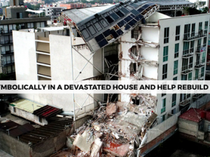 Symbolic stays in devastated homes raise over £500,000 for Mexican earthquake appeal