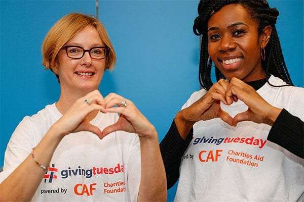 CAF staff say thank you on Giving Tuesday 2017