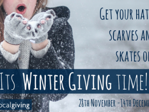 Localgiving to open Winter Giving campaign on 28 November