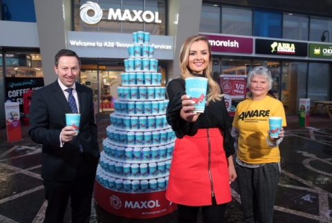 Maxol's charity hot drinks