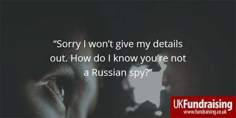 How do I know you're not a Russian spy?