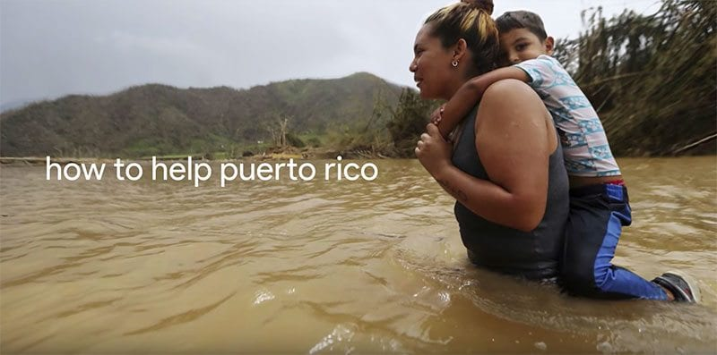 How to help Puerto Rico?