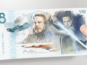 Commemorative Star Wars: The Last Jedi note supports Together for Short Lives
