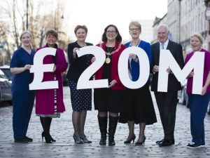 Glasgow's Hospice Brick by Brick Appeal hits £20m