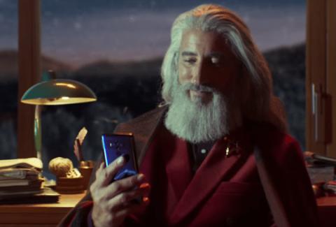 Huawei Christmas ad