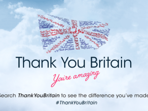 Christmas Day to see special charity Thank You Britain TV spot from WPN Chameleon