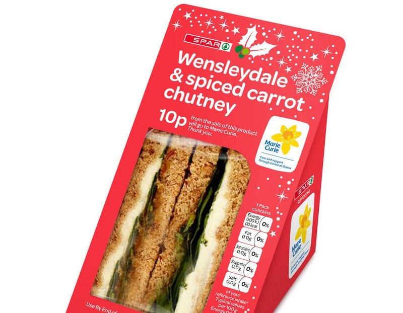 spar christmas sandwich